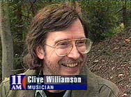 Clive Williamson on '11AM', Australia