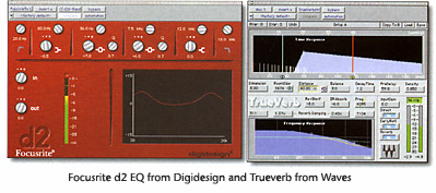 Focusrite d2 and Trueverb
