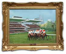 Longchamp - Oil painting by Harry Nance