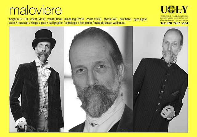 Maloviere - Ugly Models card, 2011