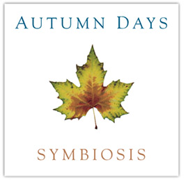 The CD cover of Autumn Days by Symbiosis
