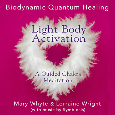 The artwork for Light Body Activation by Biodynamic Quantum Healing & Symbiosis
