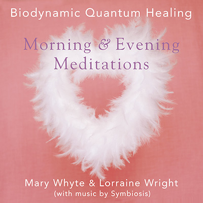 The artwork for Morning & Evening Meditations by Biodynamic Quantum Healing
