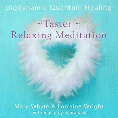 The artwork for Taster: Relaxing Meditation by Biodynamic Quantum Healing