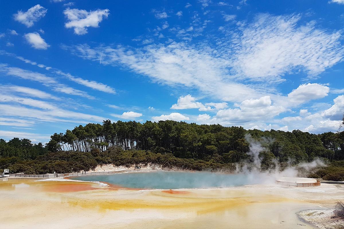Champagne Pool, Wai-O-Tapu, NZ