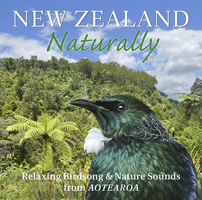 The artwork for New Zealand Naturally by Clive Williamson