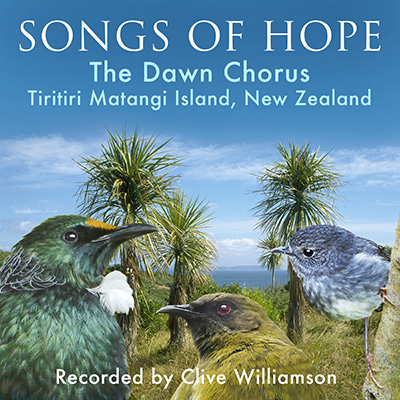 The artwork for Songs of Hope by Clive Williamson