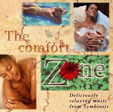 The CD cover for The Comfort Zone by Symbiosis